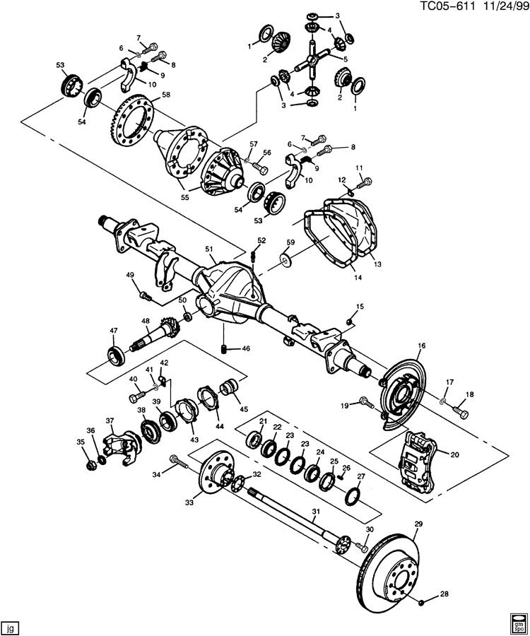 [Exploded View Of 2004 Chevrolet Suburban 1500 Manual