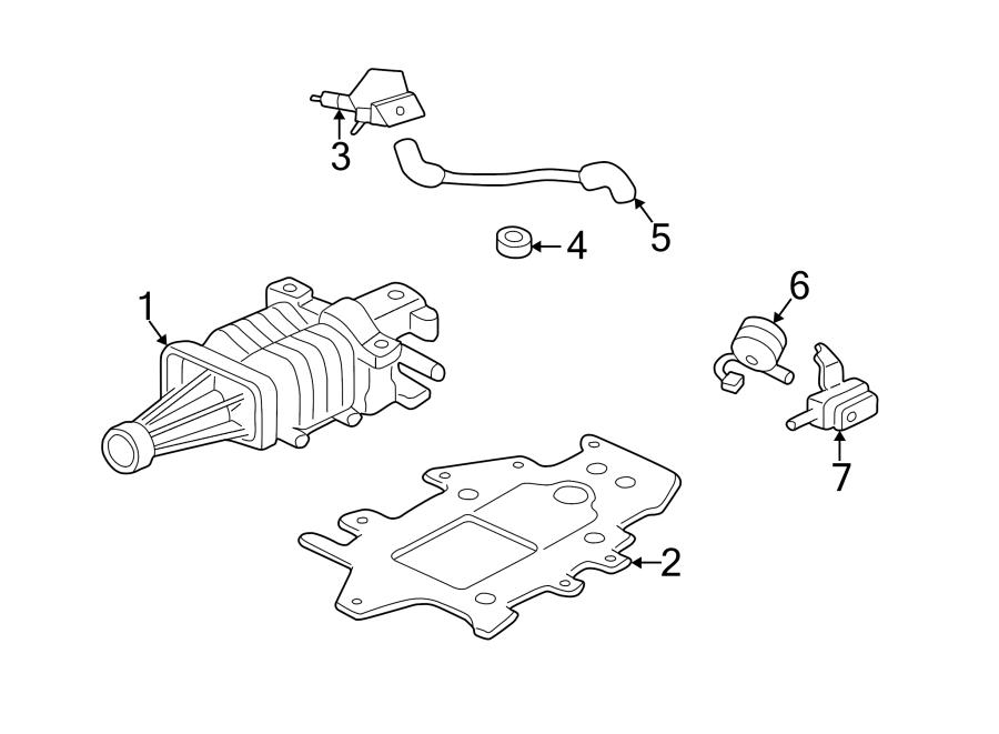 Pontiac Grand Prix Engine Intake Manifold. 1998-05. Vacuum