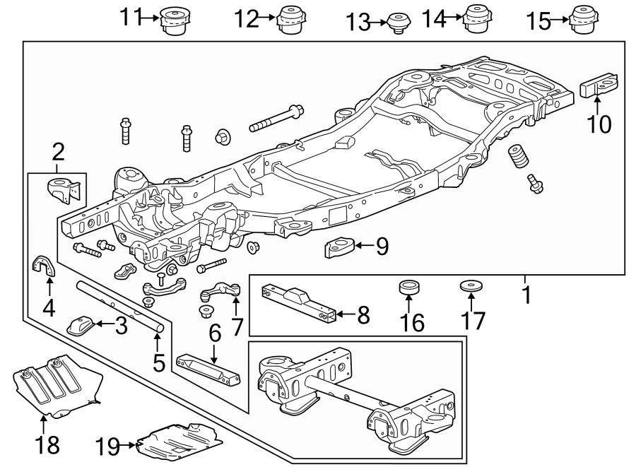 GMC YUKON Control module. Cruise control distance sensor