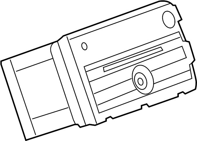 Chevrolet Traverse Radio. Radio receiver. Usbacdelco, amfm