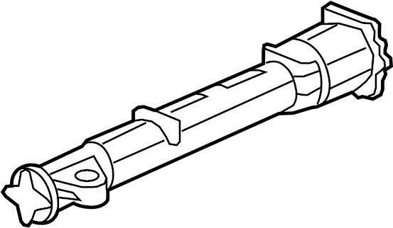 2012 Chevrolet Traverse Tube. Propeller. Tube, driveline