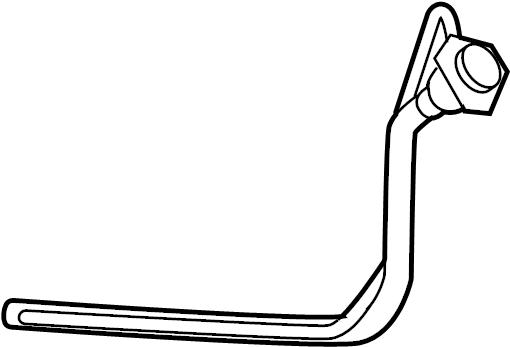 2007 Buick LaCrosse CXL 4DR Pipe. Fuel tank filler. Pipe