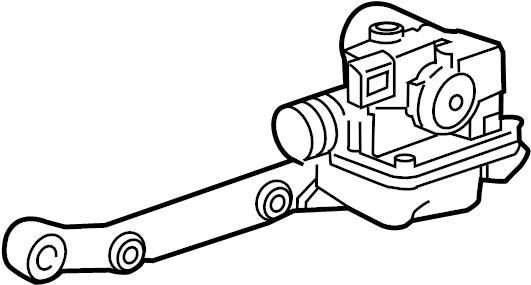 2014 Chevrolet Equinox Emission Control System. VALVE