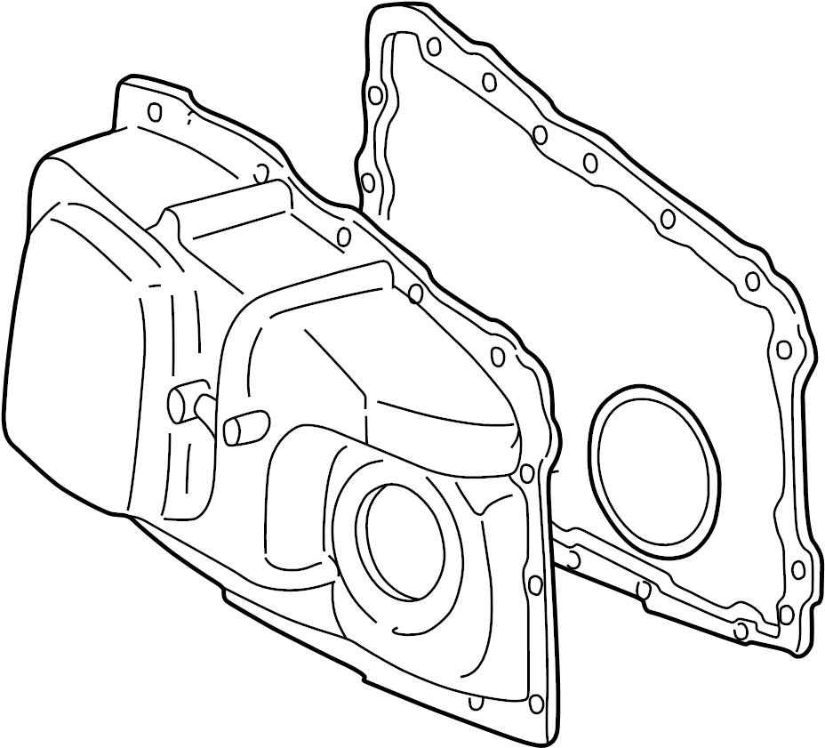 2004 Pontiac Grand Prix Automatic Transmission Cover
