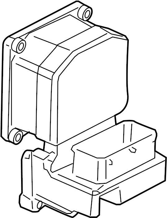 Electronic Brake Control Module With Pressure Modulator