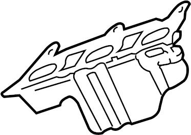 ENGINE ASM-3.6L V6 PART 6 MANIFOLDS & RELATED PARTS
