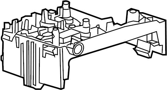 2013 Cadillac SRX PREMIUM 4DR Fuse Box. ENGINE COMPARTMENT