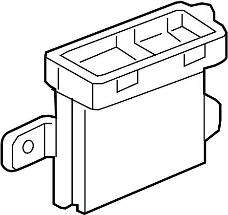 Chevrolet Cruze Parking Aid Control Module (Rear