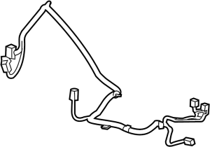 95955917  GM Harness Chassis wiring Harness, fflr cnsl