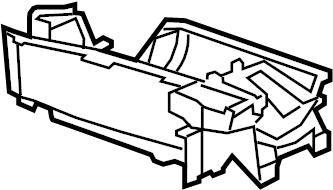 Chevrolet Camaro Case. Air conditioning (a/c) evaporator