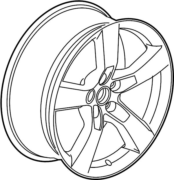 2010 Chevrolet Camaro Wheel. PKGWRS, KITWHEEL