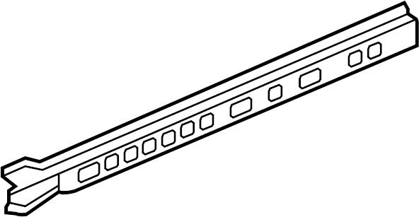 Chevrolet Monte Carlo Rocker Panel Reinforcement (Front