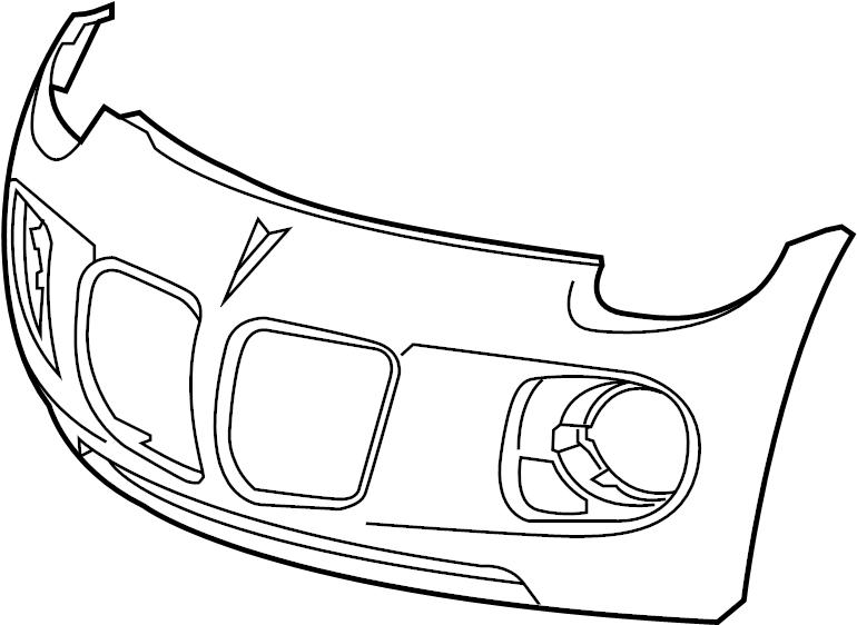 2007 Pontiac Solstice Bumper Cover. W/GXP. SCCA, GTGTA