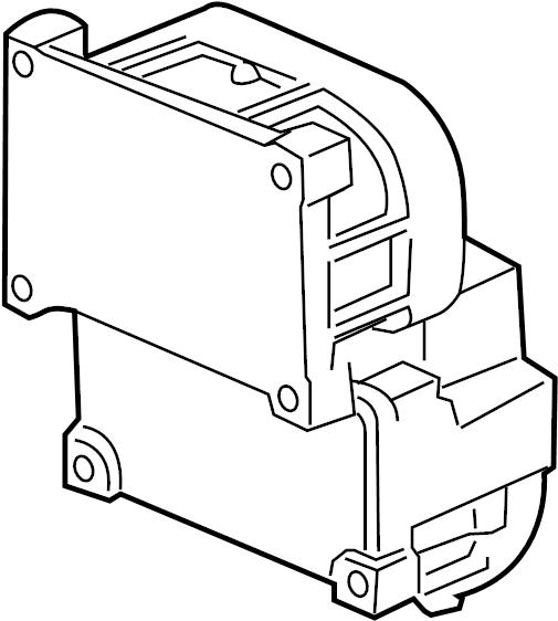 2007 Chevrolet Equinox LS Module kit. Electronic brake