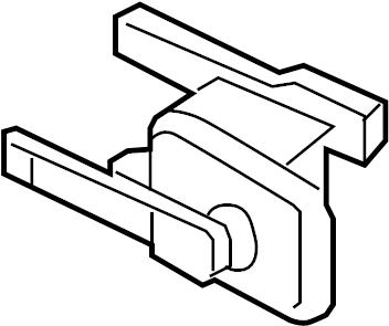 Oldsmobile Silhouette Link. Air suspension height sensor