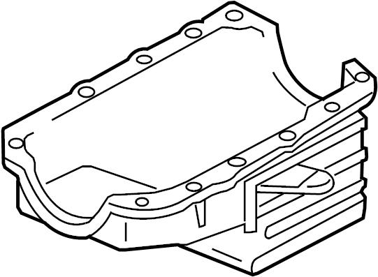 Chevrolet Malibu Pan. Engine oil. Pan, oil. Panoil