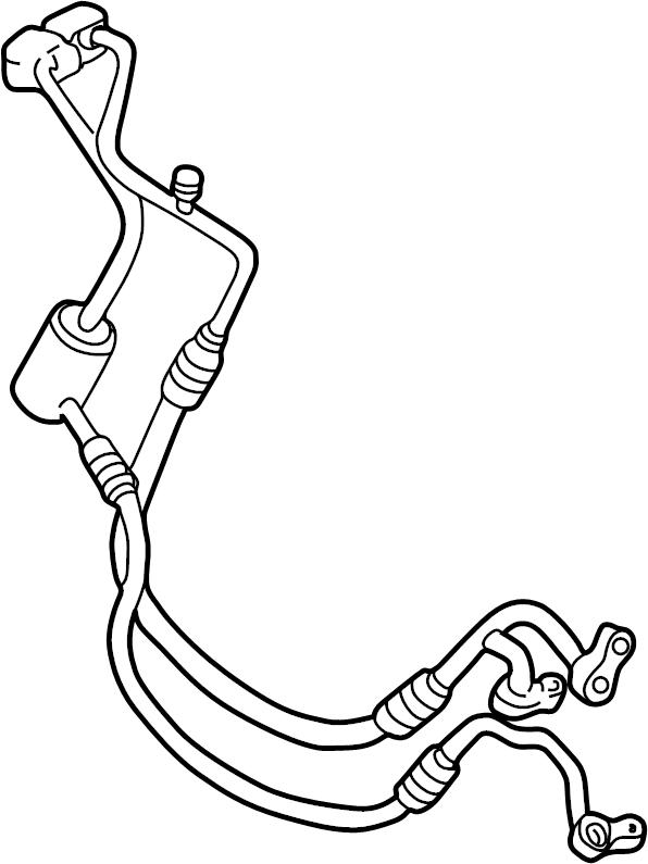 Chevrolet Venture Tube. Air conditioning (a/c) refrigerant