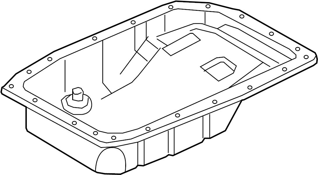 2008 Chevrolet Corvette Base Convertible Pan. Transmission