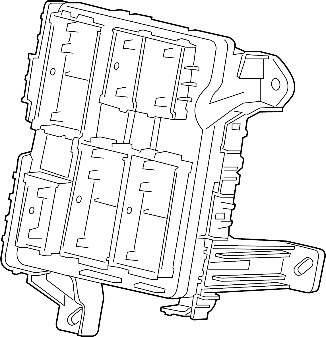 Chevrolet Tahoe Block. Wiring junction. Block, body wrg