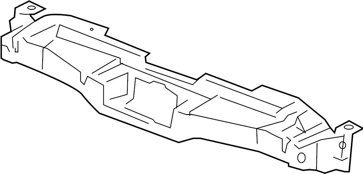 GMC YUKON Bracket. Radiator grille and front end panel