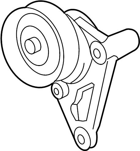 Ac Compressor Belt Tensioner Radiator Belt Wiring Diagram