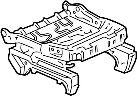 GMC YUKON Adjuster. Seat adjuster/recliner. Adjuster, d