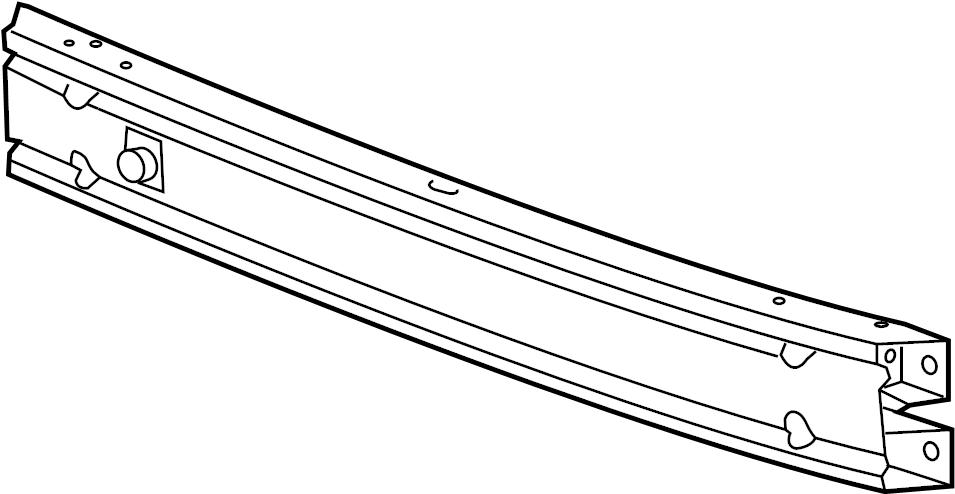 Chevrolet Trax Bar. Front and rear bumper/fascia face. Bar