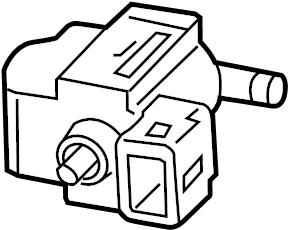2007 Chevrolet Equinox Valve. Fuel tank evaporator/purge