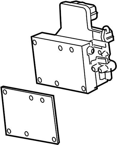 2006 Hummer H3 Module kit. Electronic brake control