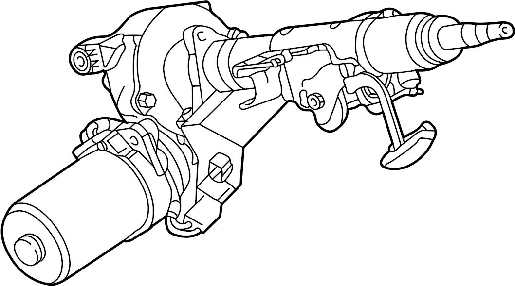 2004 Saturn Vue Column kit. Steering. Column kit, strg