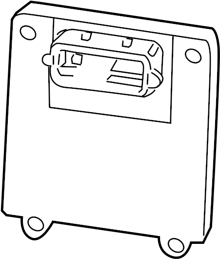2008 Chevrolet Impala Module. Transmission control module