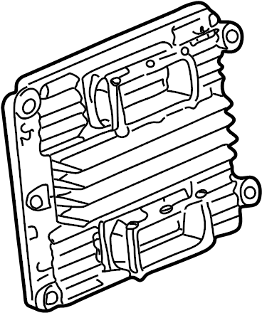Chevrolet Malibu Module. Transmission control module