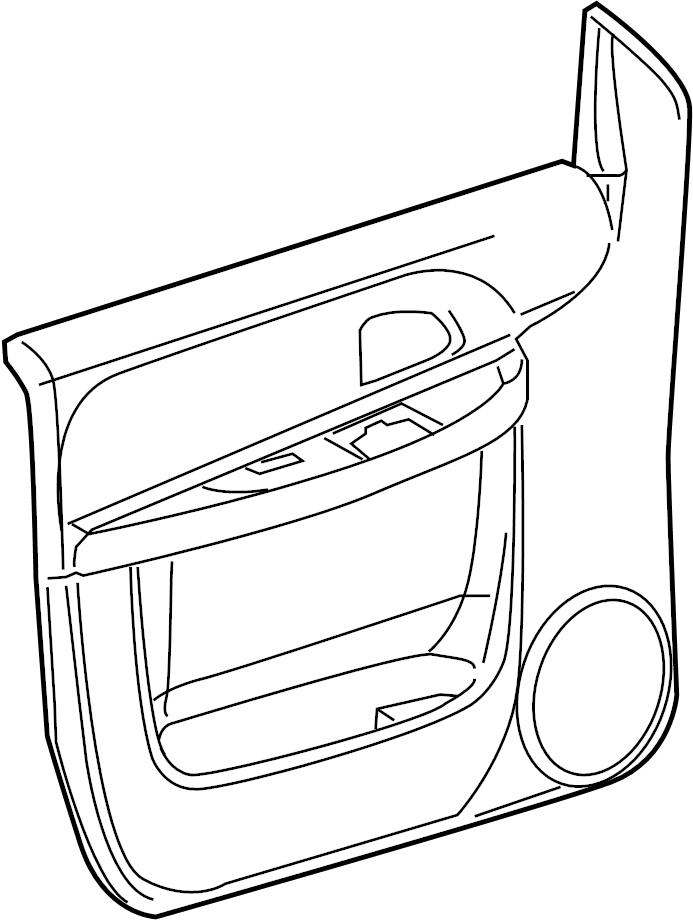 2007 Chevrolet UPLANDER Panel. Door trim/access. Panel
