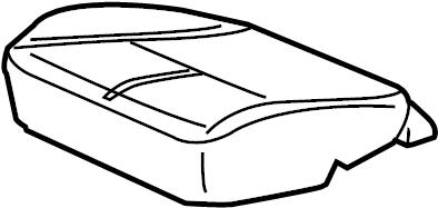 Saturn Vue Cover. Front seat cushion. Cushcashmerebuilt