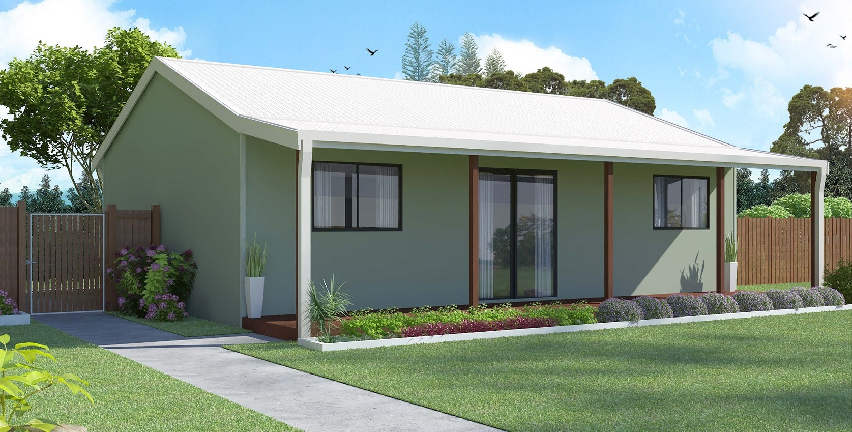 2 Bedroom  Wholesale Homes and Sheds