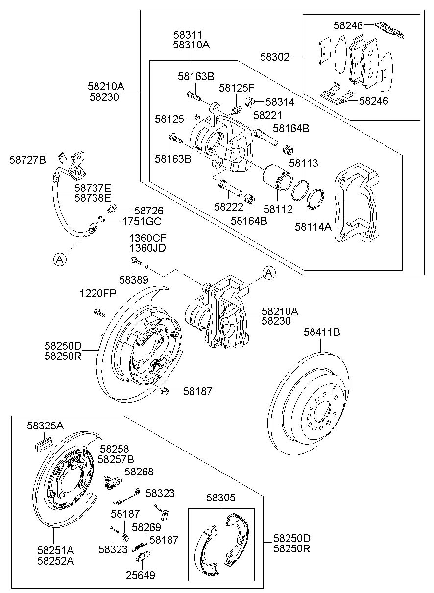 Service manual [Rear Diff Axle Removal 2009 Hyundai Santa