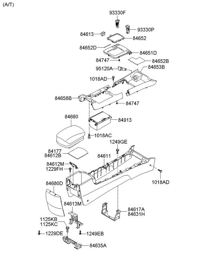 Hyundai Wiring : 2005 Hyundai Tucson Fuse Box Diagram