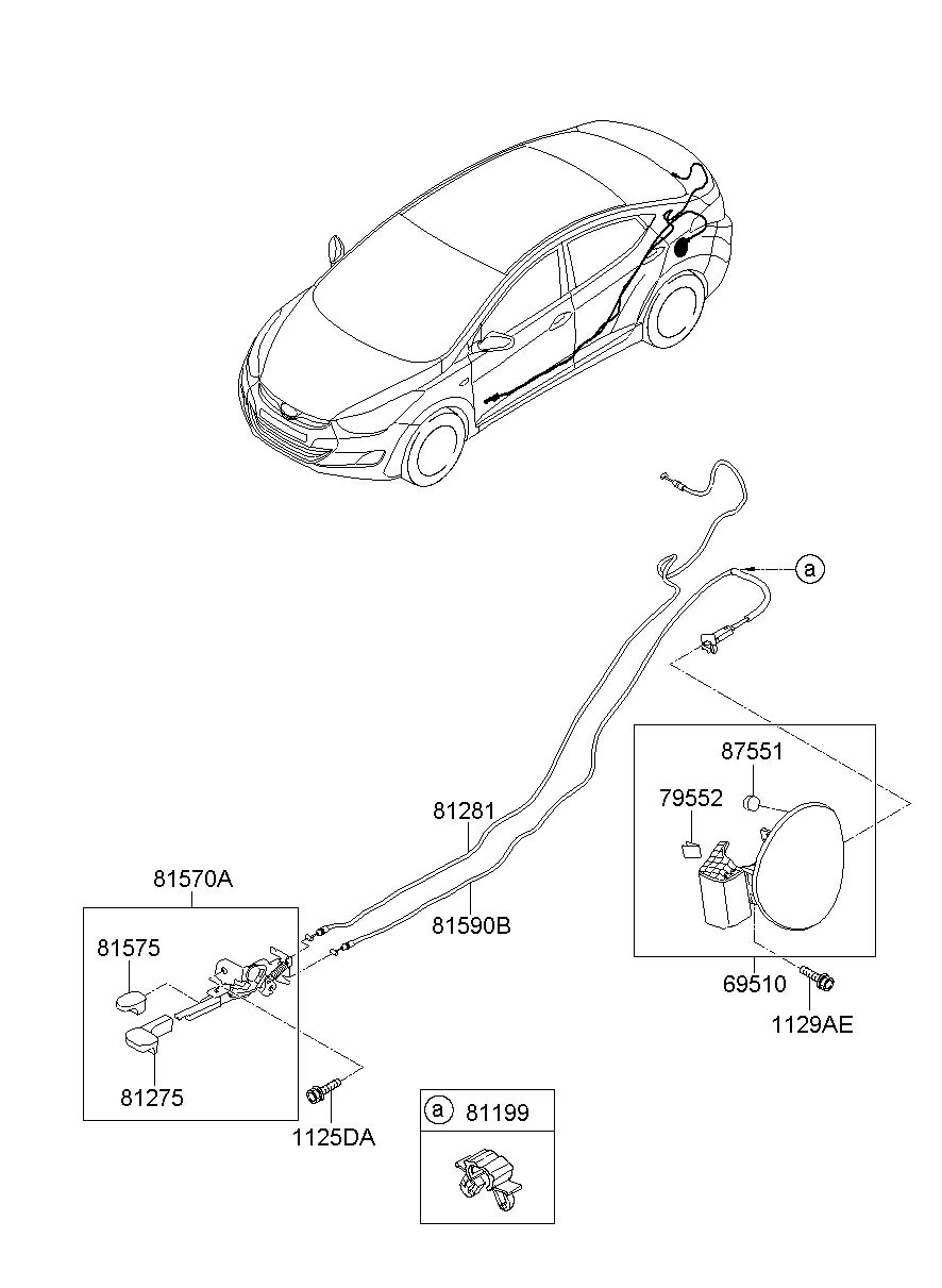 2013 Hyundai Elantra Windshield Parts Diagram. Hyundai
