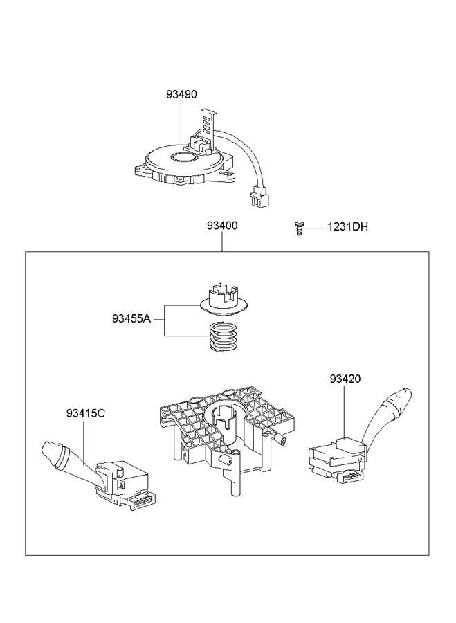 00 Hyundai Accent Electrical Diagram. Hyundai. Wiring