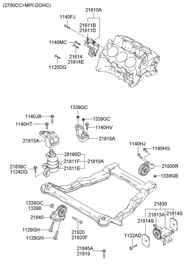 2011 Hyundai Santa Fe Engine Diagram FULL HD Quality