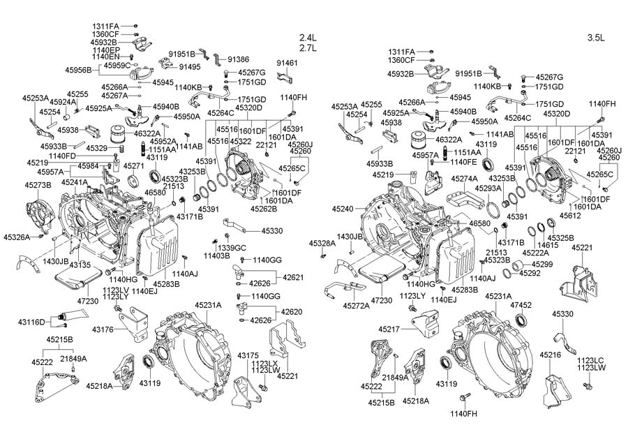 Hyundai Santa Fe Radiator Diagram, Hyundai, Free Engine