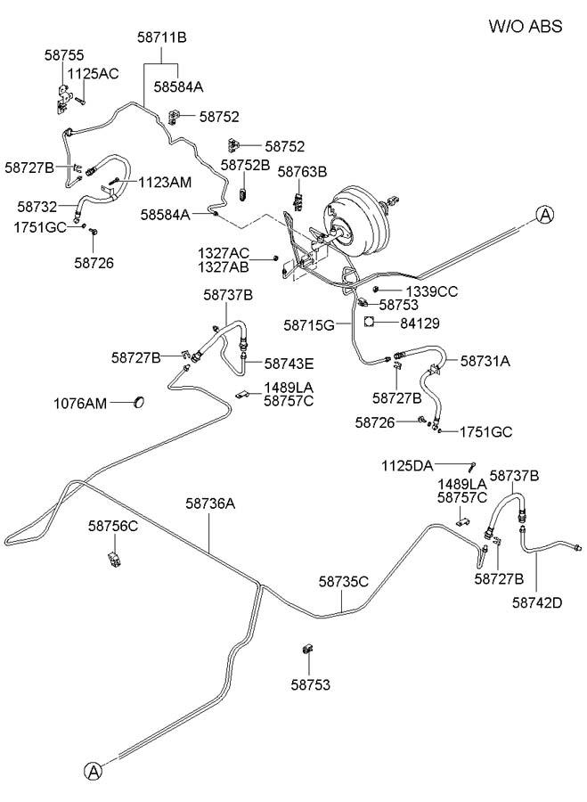 2004 Hyundai Elantra Plug. Spoiler. HMSL, Weld