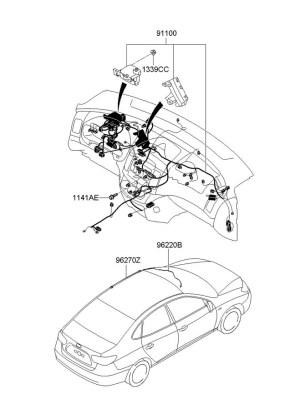 9555039000  Hyundai Flasher module  turn signal Relaymodule, entrytopen, entrypanic, donghae