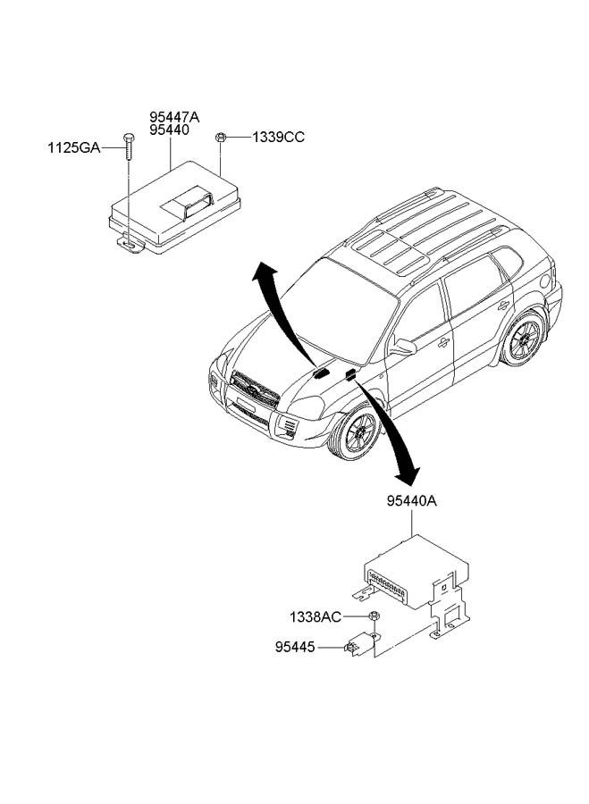 [Transmission Control 2004 Hyundai Santa Fe Engine Control