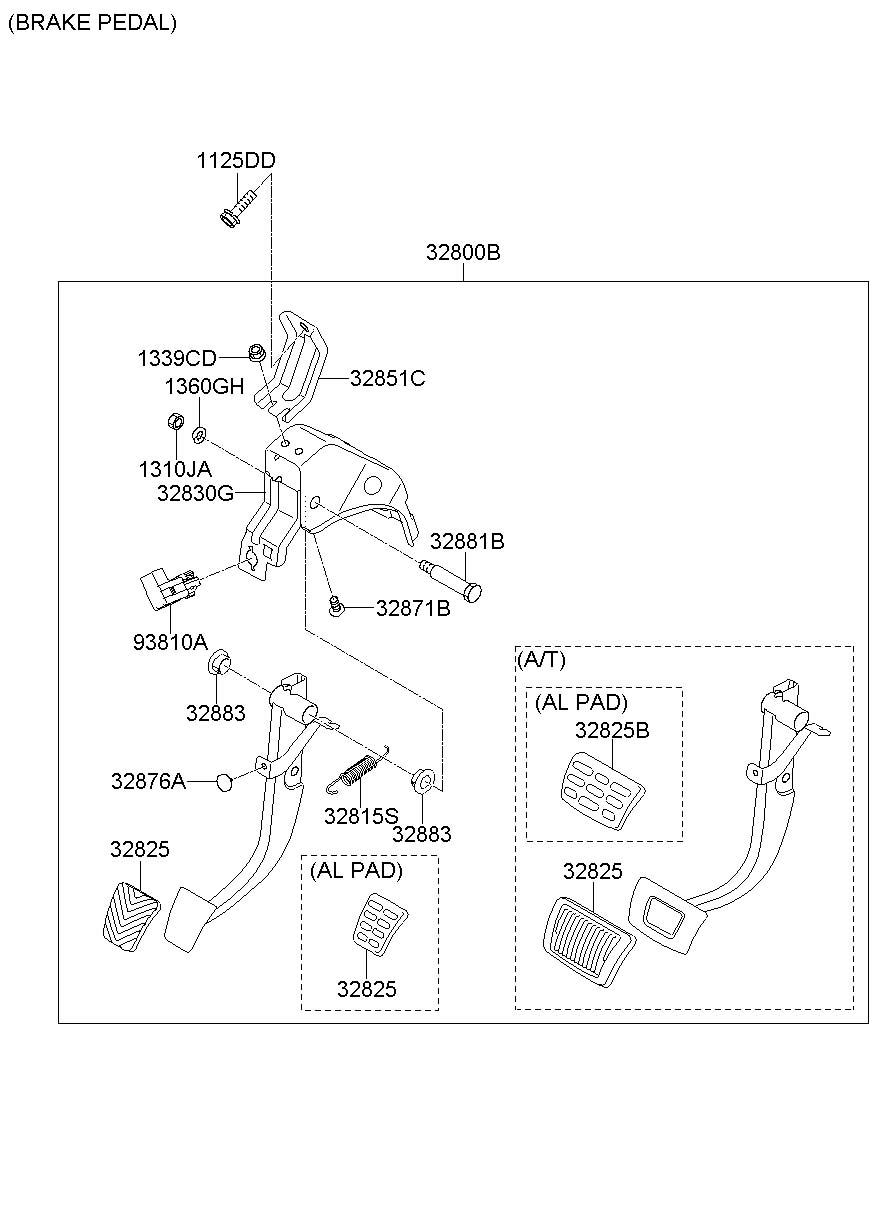 Hyundai Elantra Clutch. Cylinder. Master. / and hose