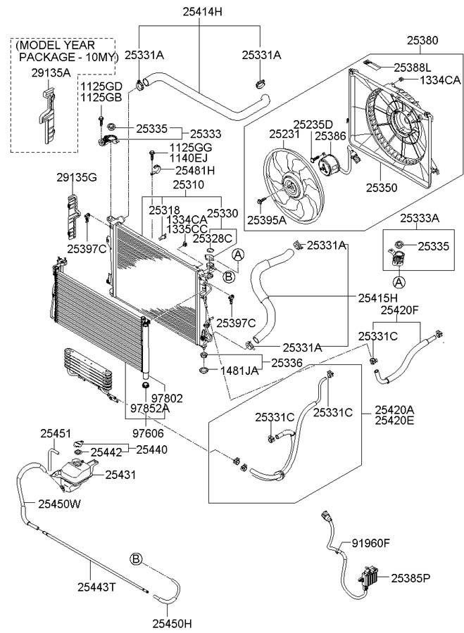 2007 Hyundai Azera Label. CAUTION. Engine. Decal. LABELS