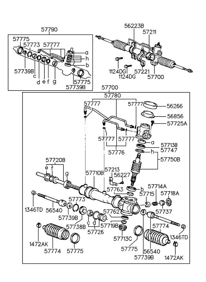 [DIAGRAM] Repair Hyundai Excel Gearbox Diagram FULL