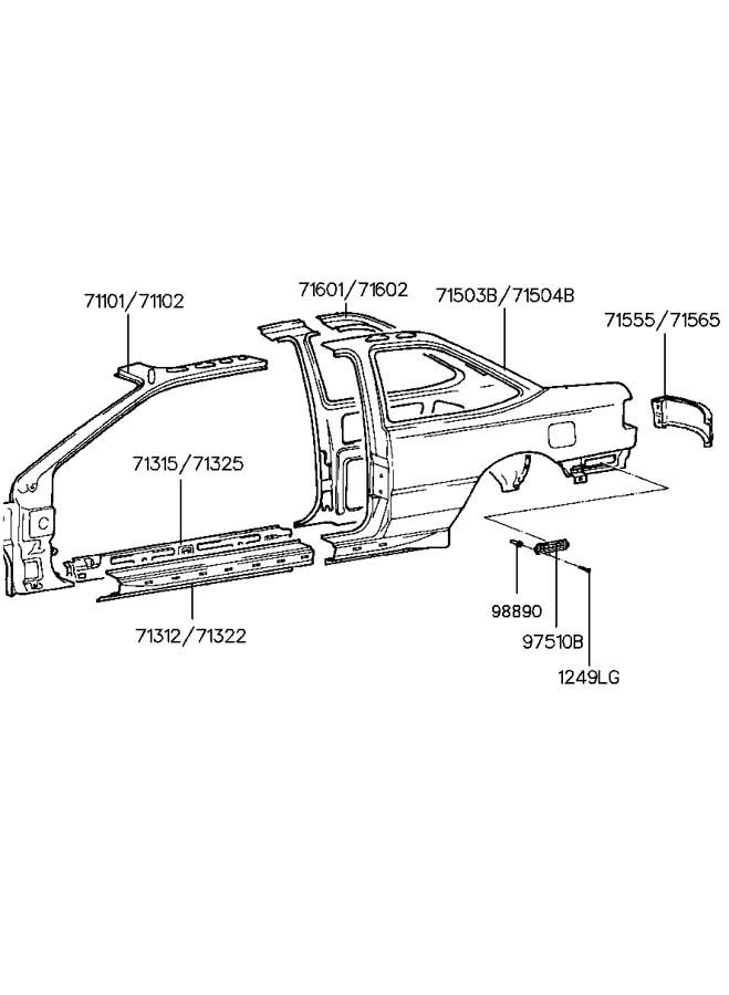 [DIAGRAM] 1994 Hyundai Scoupe Wiring Diagram FULL Version
