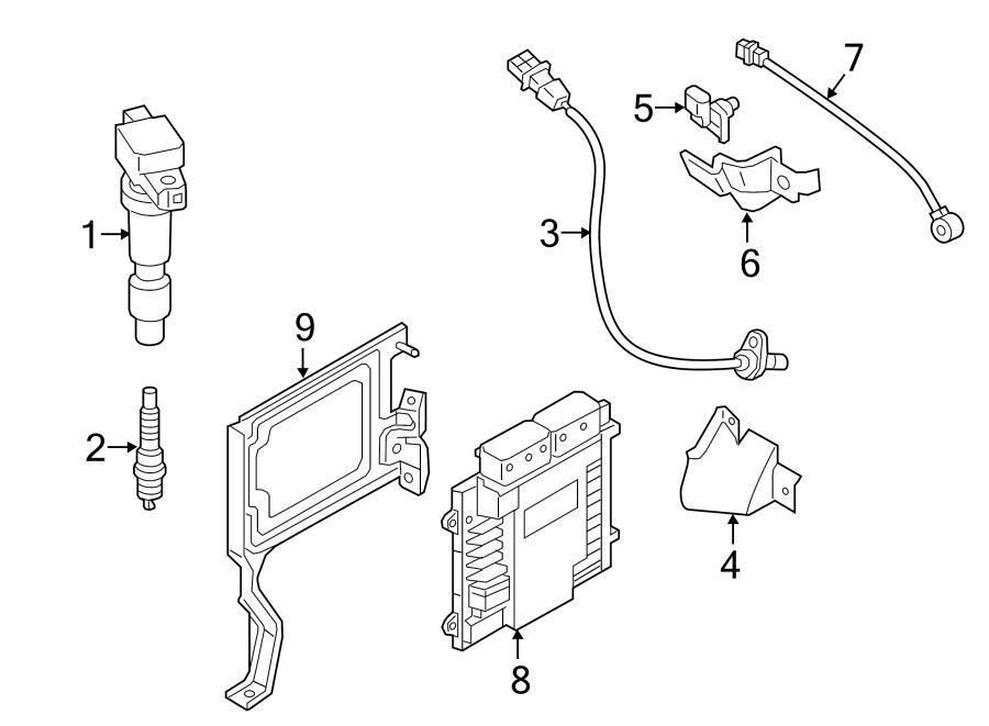 2015 Hyundai Sonata Camshaft position sensor. Camshaft