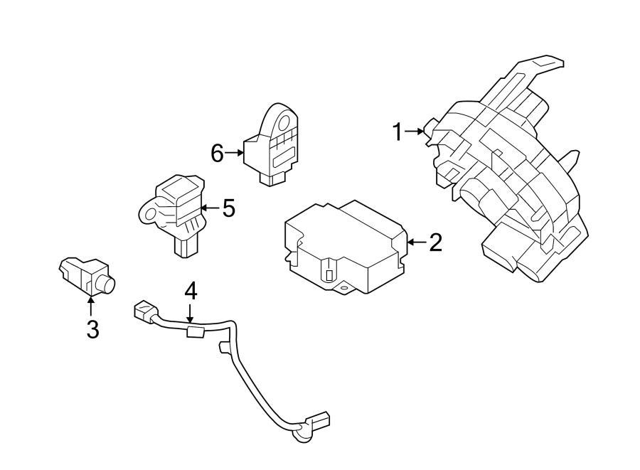 Hyundai Sonata Harness. WIRING. Sensor. Impact. AIRBAG